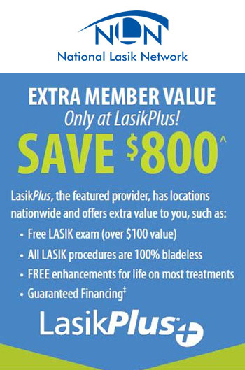 National Lasik Network Logo & Savings